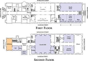 The Union League Of Philadelphia Event Planning Floor
